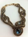 Angelica Brigade avant garde maille necklace