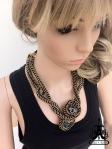 Angelica Brigade maille necklace