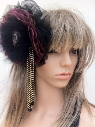 Angelica Brigade Hair Fascinator by joyz*k