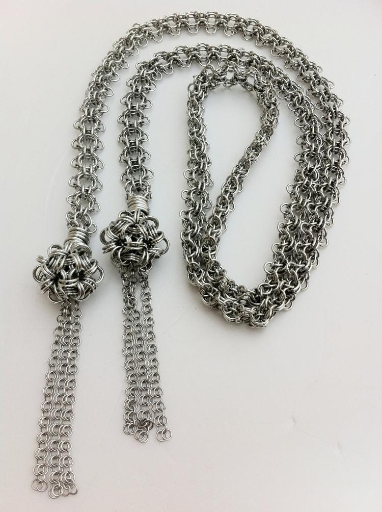 Angelica Brigade Chain Maille Lariat