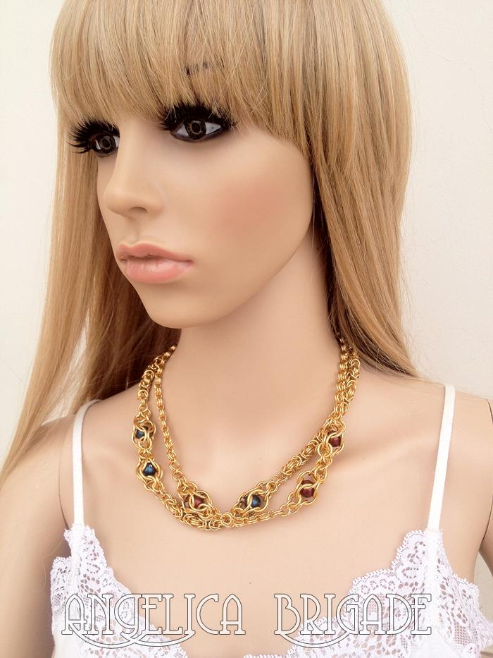 Angelica Brigade angelicabrigade handmade jewelry jewellery necklace ...