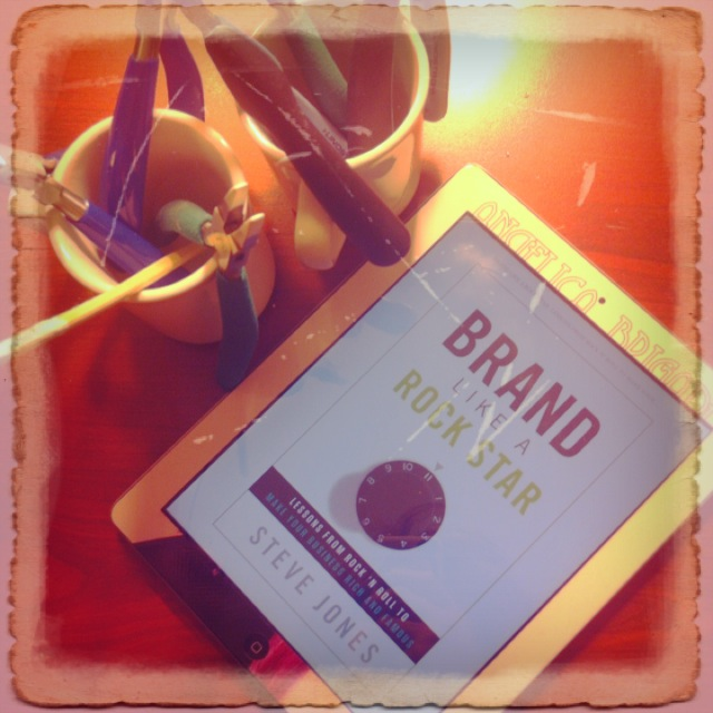 Brand Like a Rock Star ebook Kindle Steve Jones Business Book Reading Material
