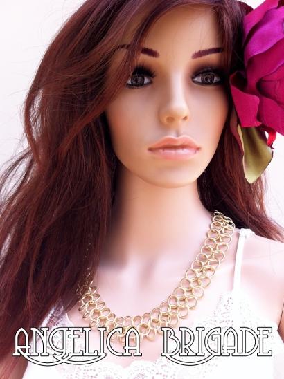 Angelica Brigade handmade chain maille jewelry AngelicaBrigade ...
