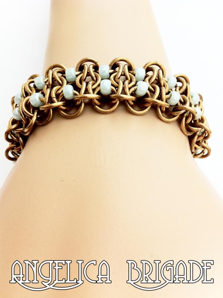 by Rebeca Mojica Blue Buddha Boutique pdf Tutorial Handmade Chain ...