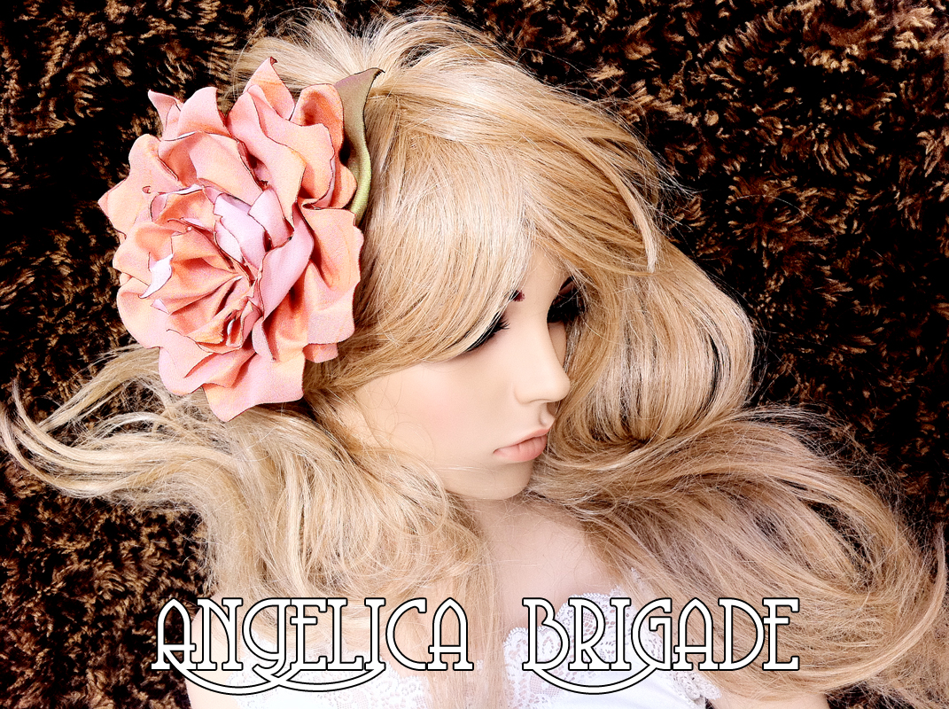 Hair Fascinator Angelica Brigade