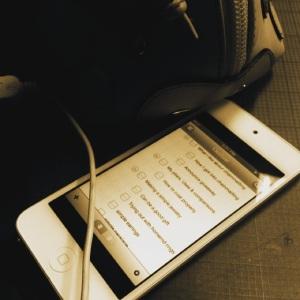 AngelicaBrigade Angelica Brigade iPod Touch 5G App Checklist Check List Slick Task Lite Gucci Zoo Handbag
