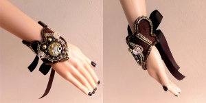 angelica-brigade_one-of-a-kind_steampunk_clockwork_beaded_cuff_006