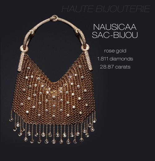 Hermes Nausicaa Sac Bijou. Chainmaille Chain Maille Jewelry Jewellery Bag