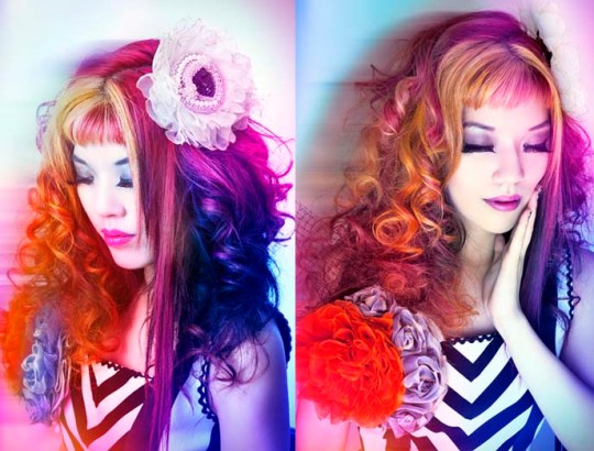 lacarmina lacarmina angelica brigade angelicabrigade leveled magazine leveledmagazine handmade accessories gothic lolita hair fascinator hair flower chainmaille jewelry