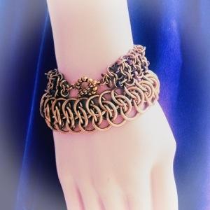 angelica brigade handmade bracelets chainmaille bracelet brass jewelry jewellery