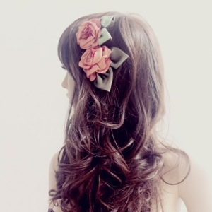angelica brigade floral headpiece angelicabrigade art nouveau inspired flower clip handmade hair accessory