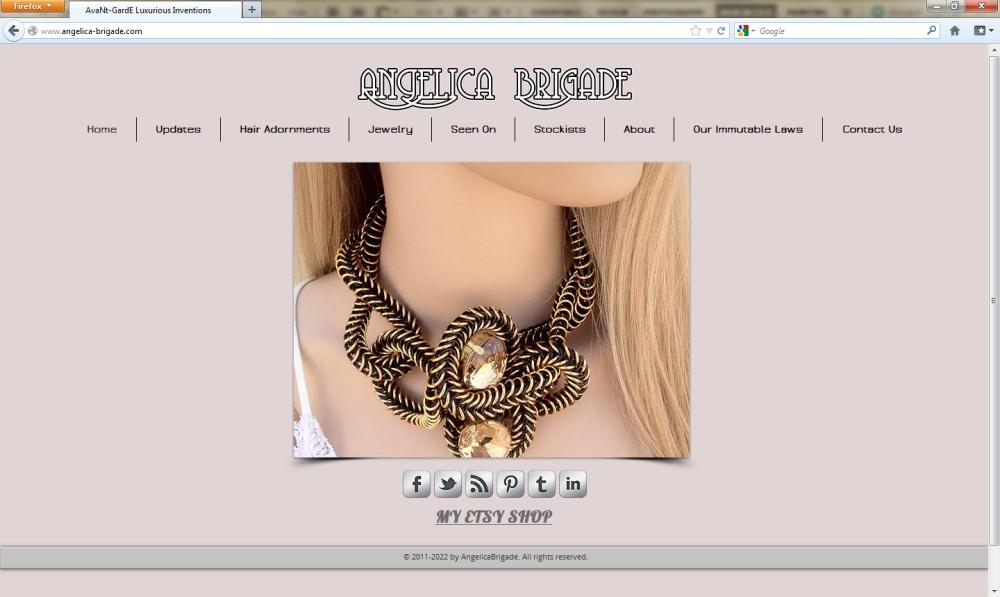 angelica brigade angelicabrigade company website