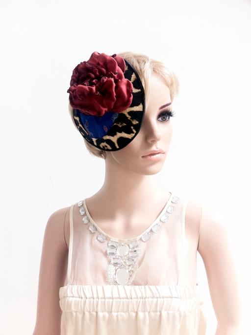 angelica brigade cocktail hat angelicabrigade handmade accessories handmade silk hair fascinator clip