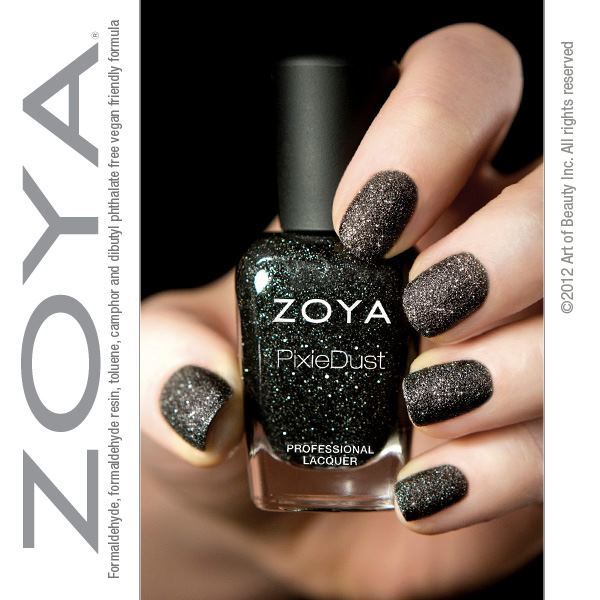 zoya pixie dust professional nail laquer nail polish 2013 color textured nails