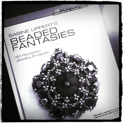 Beaded Fantasies by Sabine Lippert beadweaving lark publishing book jewelry jewellery making handmade accessories beads seed bead