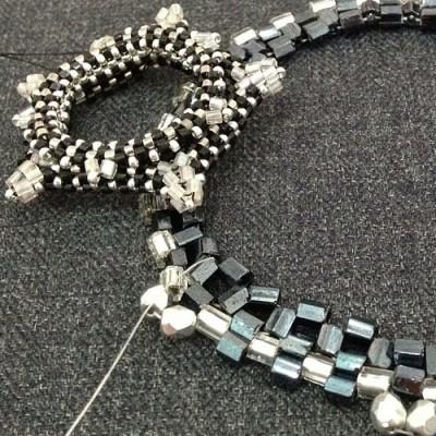 angelica brigade work in progress angelicabrigade beadwork jewelry accessories jewellery joyce katuari