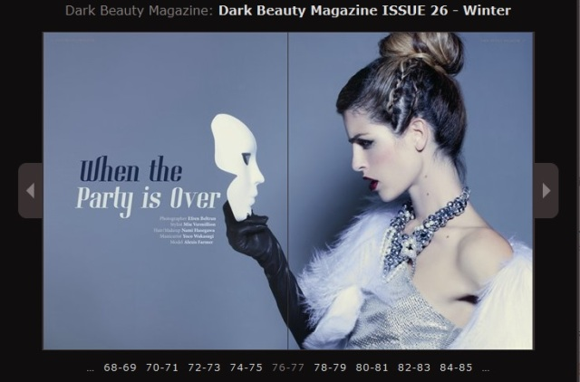dark beauty magazine winter fashion editorial november 2013 issue 26