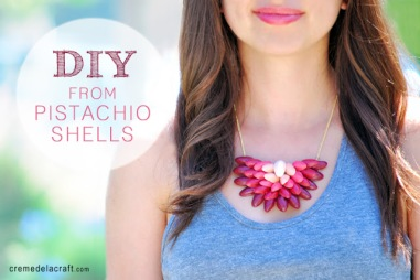 DIY-Tutorial-Project-How-To-Make-Ombre-Necklace-Pistachio-Shells-Paint