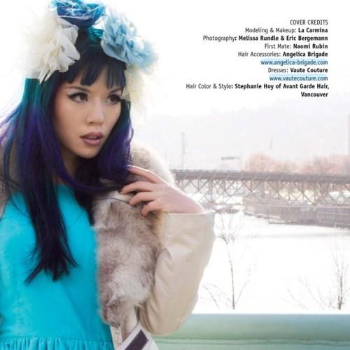 la carmina lacarmina rebelicious magazine vaute couture angelica brigade angelicabrigade