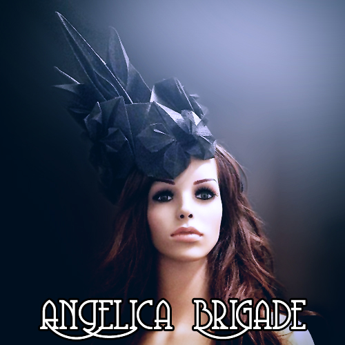 angelica-brigade_avant-garde-headpiece_unusual-origami-hat