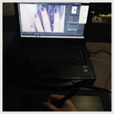 image editing - wacom tablet