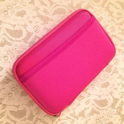Drive Logic DL-64 Portable EVA Hard Drive Padded Carrying Case Pouch (Pink)