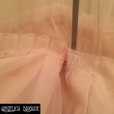 Angelica Brigade - Creating the Handmade Antoinette Dress